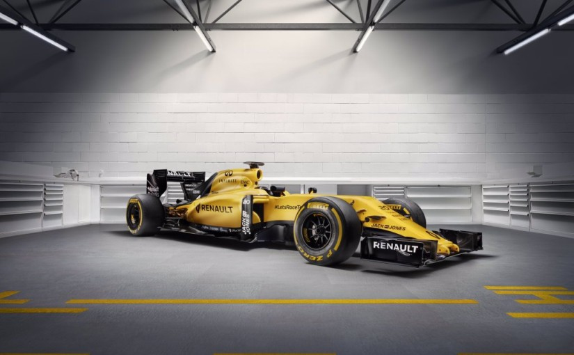 Renault F1 RS16 2016