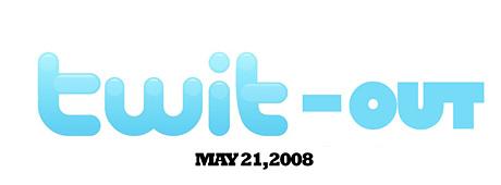 Twit-out day: 21. mai - boikott