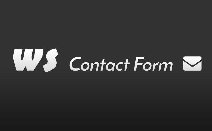 WS Contact Form WordPressi plugin