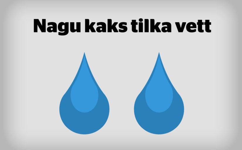 Nagu kaks tilka vett – Apple Airpods ja elektrihambarja otsik