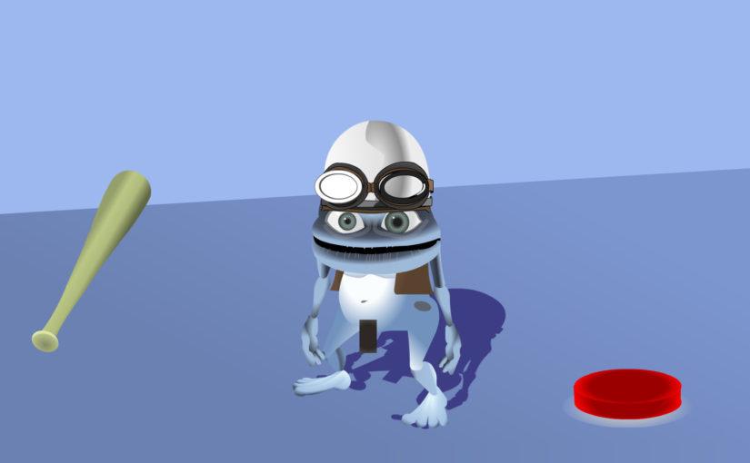 Crazy Frog Baseball