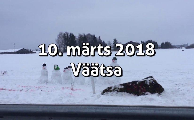 Väätsa lumememmede paraad 2018